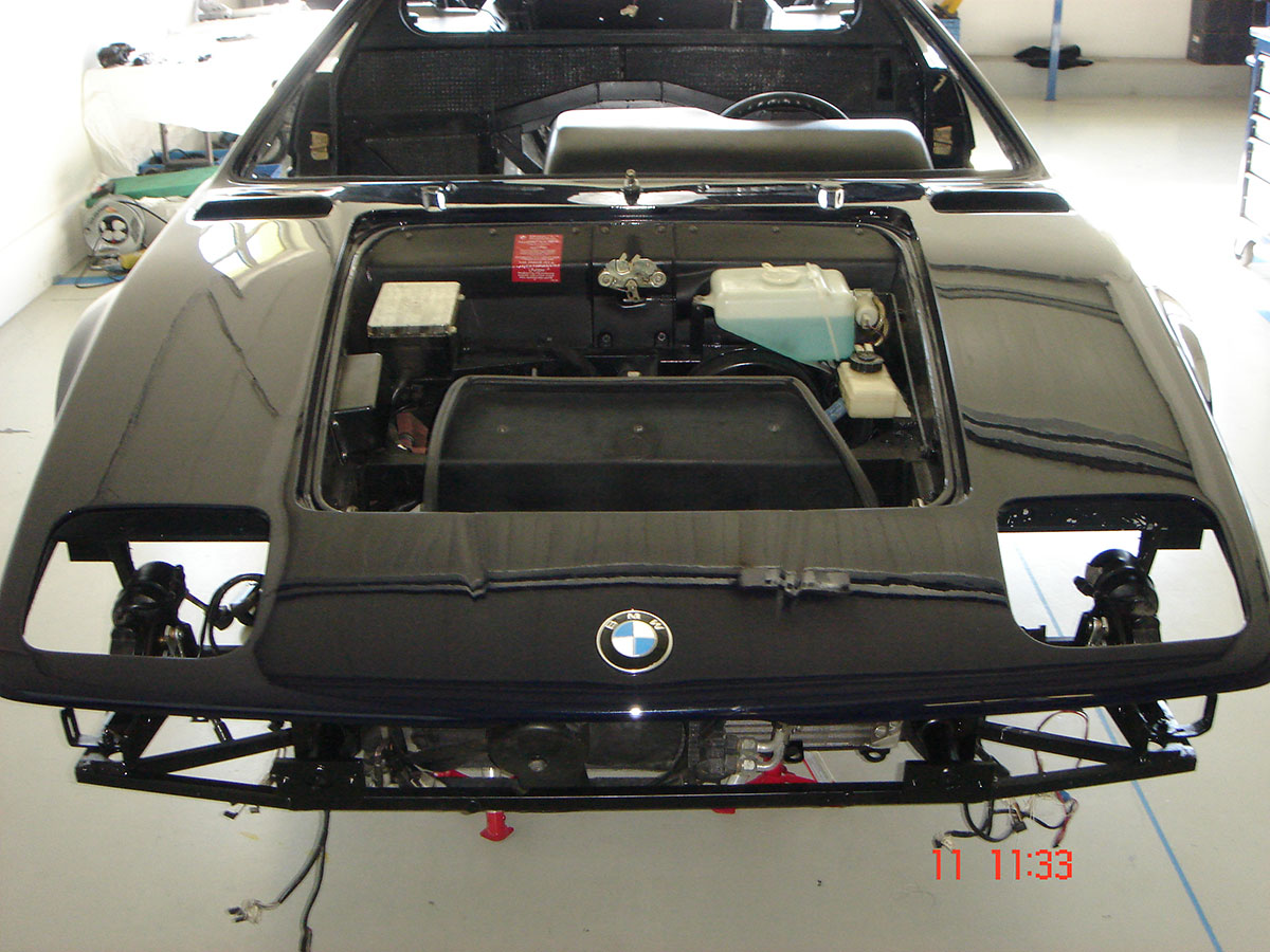 Restauration BMW M1 - Didi's Auto